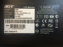 Acer T230H LCD Monitors for Sale