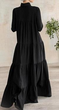 Black ladies modest dress