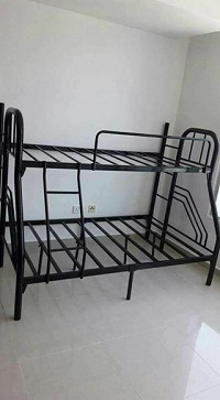 selling brand new up single down double bunk beds black